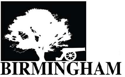 Birmingham tree and cannon