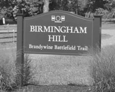 Birmingham Hill Brandywine Battlefield Trail